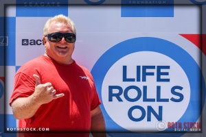 Lance Bowling Attends Life Rolls On