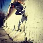 Jonathan Bon backside wall ride