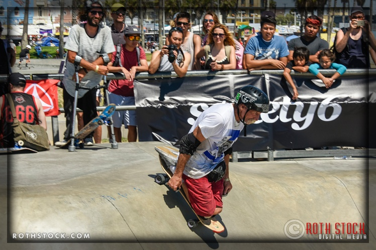 "Adaptive athlete Jesse Swalley performs at the Life Rolls On ""They Will SKATE Again"" Demonstration"